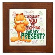 Shop For My Present? Framed Tile