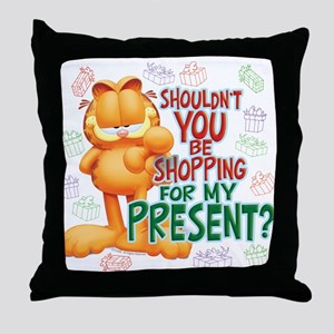 Shop For My Present? Throw Pillow