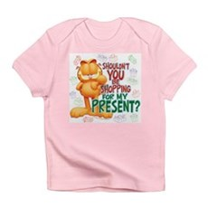 Shop For My Present? Infant T-Shirt