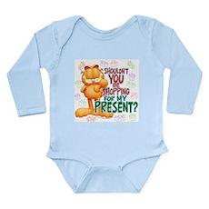 Shop For My Present? Long Sleeve Infant Bodysuit