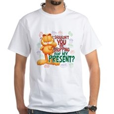 Shop For My Present? White T-Shirt