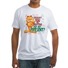 Shop For My Present? Fitted T-Shirt