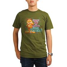 Shop For My Present? Organic Men's T-Shirt (dark)