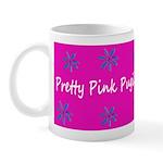 Pretty Pink Pugilist Breast Cancer Fighter Mug