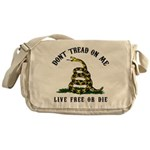 Don't Tread on Me Messenger Bag