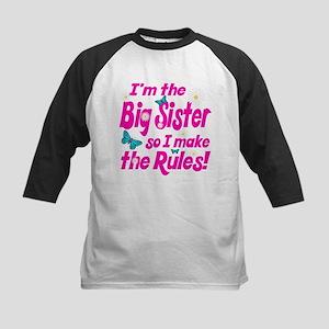 Big sister makes the rules Kids Baseball Jersey