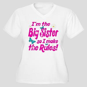Big sister makes the rules Women's Plus Size V-Nec