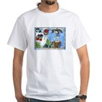 Bird Watching @ Heceta Lighthouse White T-Shirt