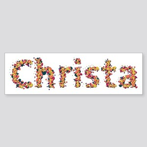 Christa Fiesta Bumper Sticker