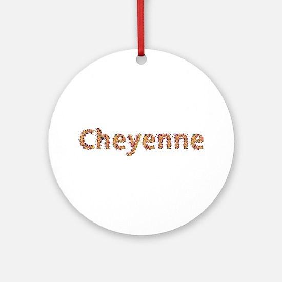 Cheyenne Fiesta Round Ornament