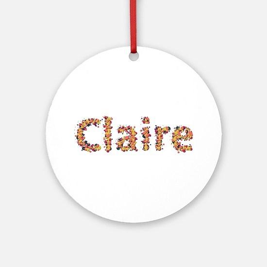 Claire Fiesta Round Ornament