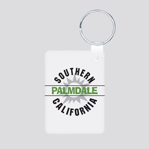 Palmdale California Aluminum Photo Keychain