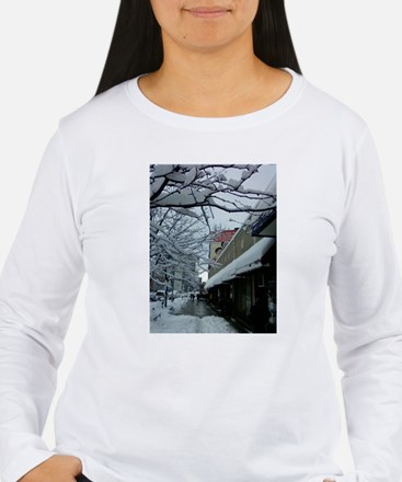 Seasonal Photos in Heights on Women's Lg-Slv T