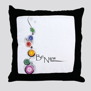 Be Now Throw Pillow