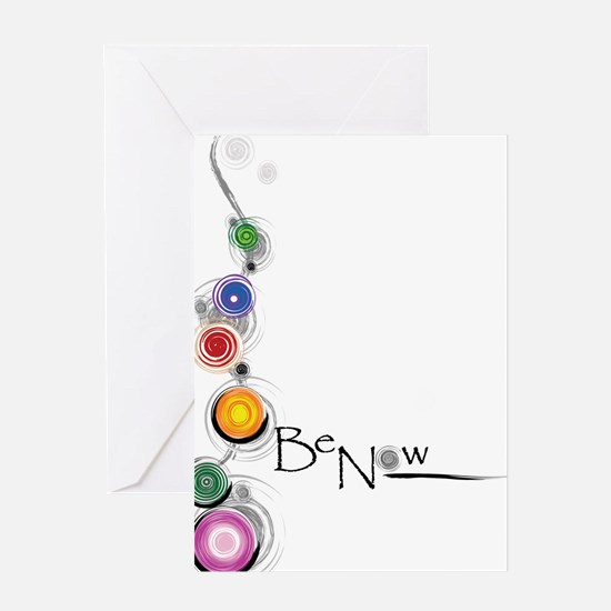 Be Now Greeting Card