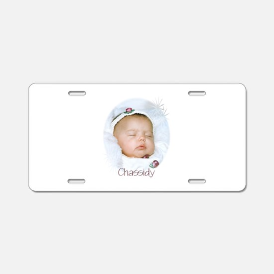 Chassidy Aluminum License Plate