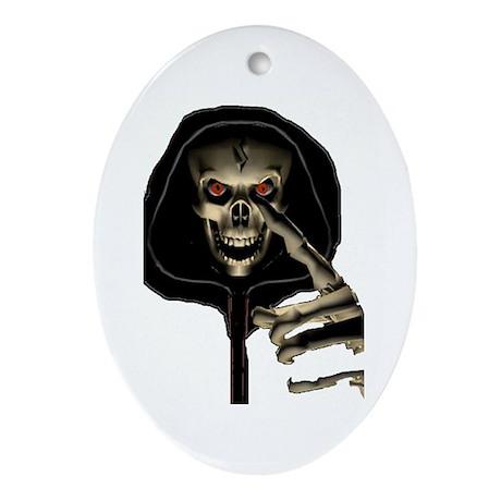 Devil's Minion Oval Ornament
