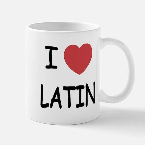 I heart latin Mug