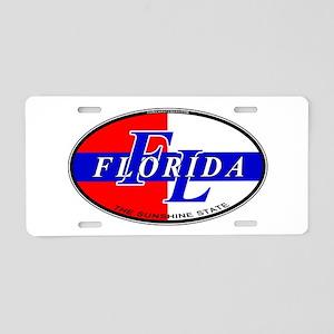 (FL) Florida USA Oval Aluminum License Plate