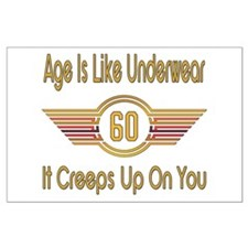 Funny 60th Birthday Large Poster