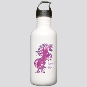 Horses Rock Gummy Stainless Water Bottle 1.0L
