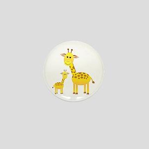 Little & Big Giraffes Mini Button