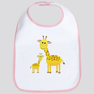 Little & Big Giraffes Bib