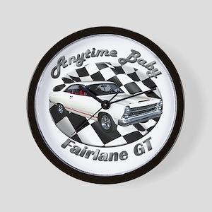 Ford Fairlane GT Wall Clock