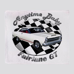 Ford Fairlane GT Throw Blanket