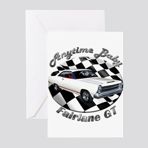 Ford Fairlane GT Greeting Cards (Pk of 20)