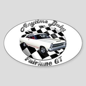 Ford Fairlane GT Sticker (Oval 10 pk)