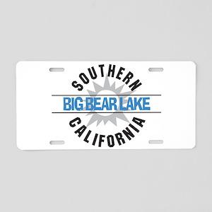 Big Bear Lake California Aluminum License Plate