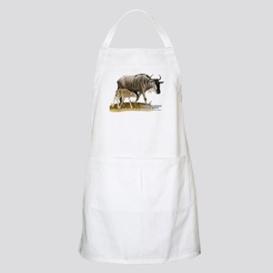 White-Bearded Wildebeest Apron