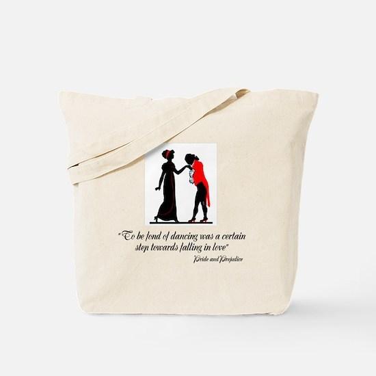 Fond of Dancing Tote Bag