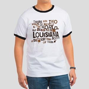 Louisiana (Funny) Gift Ringer T