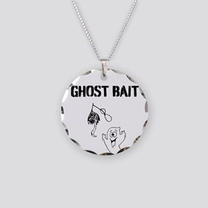 Ghost Bait Necklace Circle Charm