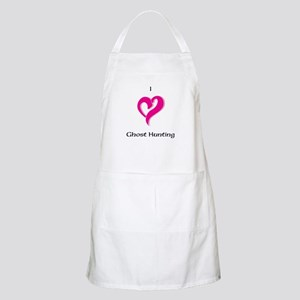 I Love Ghost Hunting Apron