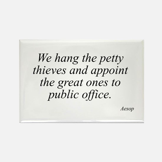Aesop quote 25 Rectangle Magnet