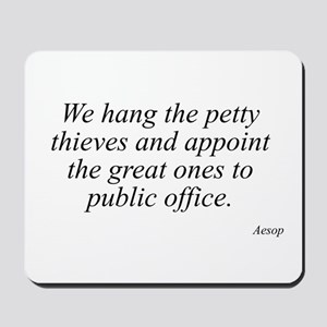 Aesop quote 25 Mousepad