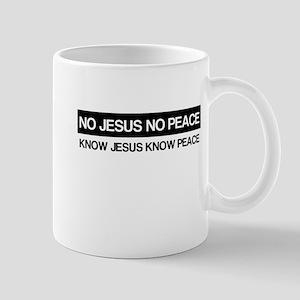 Know Jesus Know Peace Mug
