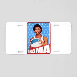 Obama Basketball Aluminum License Plate