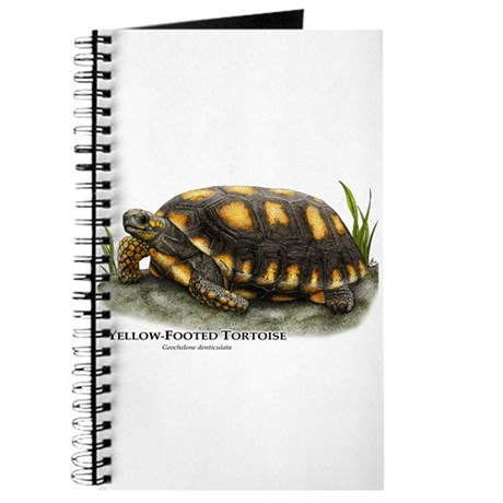 Yellow-Footed Tortoise Journal