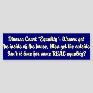 Divorce Court Equality 1