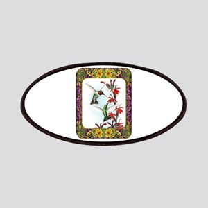 Hummingbirds and Flowers #5 Patches