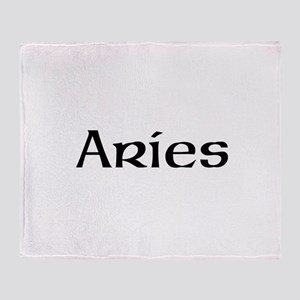 Zodiac signs Throw Blanket