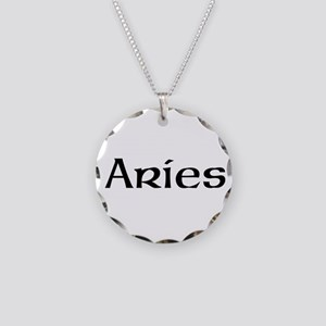 Zodiac signs Necklace Circle Charm