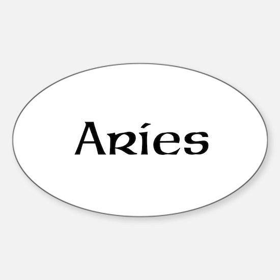 Zodiac signs Sticker (Oval)
