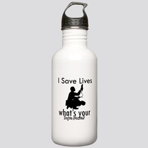 Cool Paramedic designs Stainless Water Bottle 1.0L