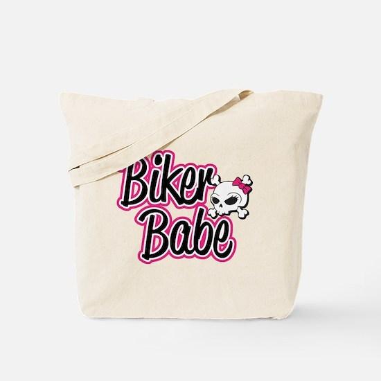 Biker Babe Tote Bag