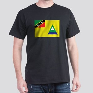 Nevis Flag Dark T-Shirt